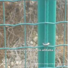 ПВХ покрытием Голландии проволочной сетки забор завод