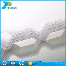 chapa de policarbonato ondulado