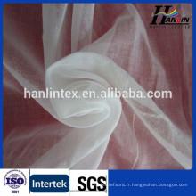 80s 60s 50s écharpe tissu filé polyester voile gris tissu