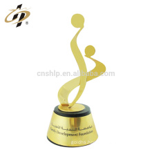 Wholesale quickly custom creative design your logo samples awards metal trophies plaques