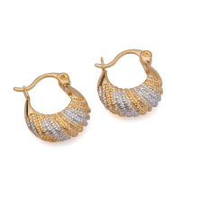Fashion Simple Hot Sales Multicolor Imitation Jewelry Earring Huggies for Women -20845