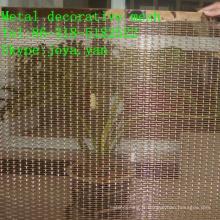Maille décorative en métal