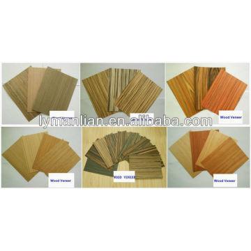 venta caliente de chapa de madera puerta de la piel