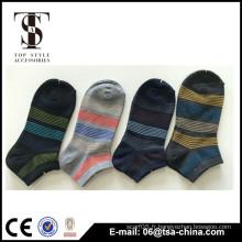 Chaussettes entreprises 100 hommes coton personnalisés en haute qualité