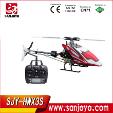 Famous Brand Skyartec WASP X3S 3 axis 2.4GHz HWX3S plastic flybarles rc helicopter