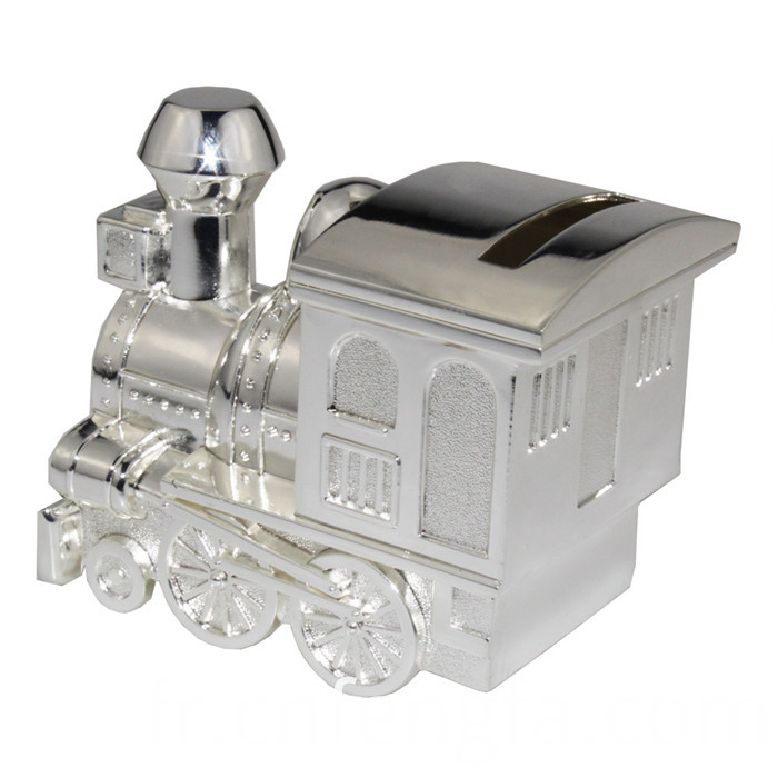 Hot sell train piggy bank with car