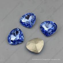 Bom cristal extravagante pedras strass