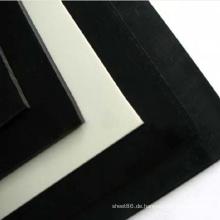 100% Virgin White Extruded POM Kunststoffplatte