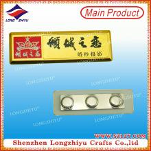 Eisen-Namensschild mit Magnet