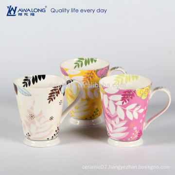 fashionable bone china mug porcelain coffee mugs