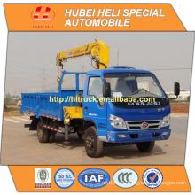 FOTON 4x4 3.2 tons crane 4x4crane truck hot sale for export
