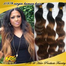 100% unprocessed wholesale virgin brazilian hair weave 3 bundles