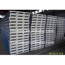 Precio de Panel de techo de emparedado de EPS/Poliuretano Panel Sandwich precio pára acero Panel de emparedado del EPS para cuarto frío