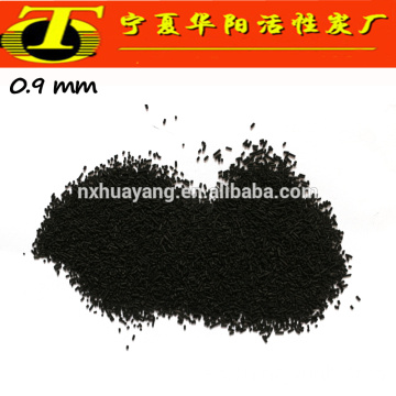 Vendedor de carbono activado de 4mm China Ningxia