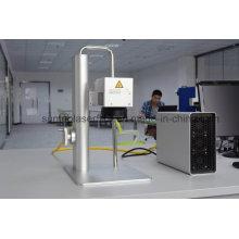 Novo Design e Gravador Mini Laser Automático / Pequena Fibra Laser Marcação Máquina