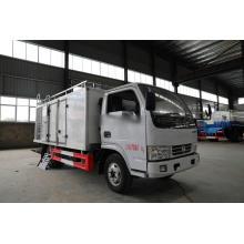 Camión refrigerado del camión del congelador del refrigerador del motor diesel