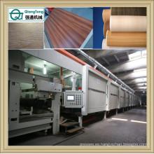 Línea de la impregnación para la hoja del papel de la malenina / la máquina de recubrimiento de la hoja del papel de la decoración