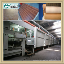 Linha de impregnação para folha de papel de malemina / Máquina de revestimento de folhas de papel de decoração