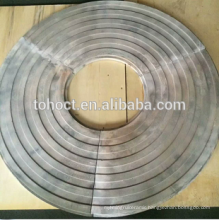 Grooved ceramic ring Silicon nitride bonded silicon carbide ceramics