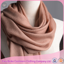 Children's grils high quality custom organic wool winter shawl scarf
