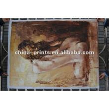 Nouvelle peinture de haute qualité de peau de femme nue