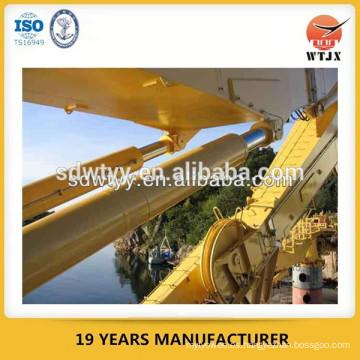 Cilindro hidráulico para la grúa marina / cilindro hidráulico manufactuer