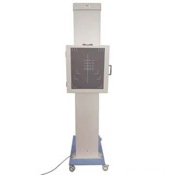 Подвижные баки стоят вертикальные рентген грудной клетки стенд с беспроводной контролируемых баки путешествия