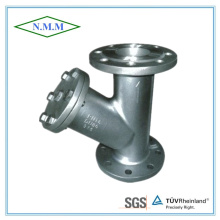 Stainless Steel Flange Ends Y-Strainer Pn16