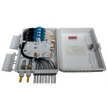 Boîte à bornes à fibre optique FTTH 16 cœurs