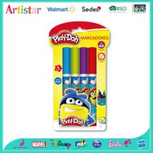 Play-Doh cone-shaped water color marker