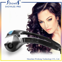 Portable Hair Curler LCD Bildschirm Display Haar Lockenstab Eisen