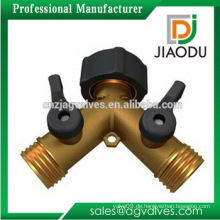 1/2 3/4 3/8 1 2 3 4 5 Zoll gemacht in China kundenspezifische elektrische Kupfer Wasser Absperrventil für Wasser