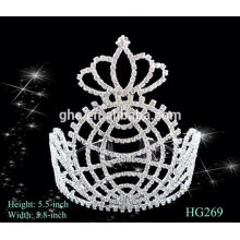 Fábrica de alta calidad directamente mini tiara