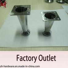 Fábrica de venda direta de peças de zinco cromadas e pés de sofá (ZH-8056)