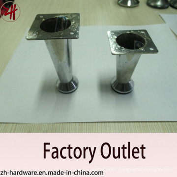 Factory Direct Sale Chrome Plated Zinc Furniture & Sofa Legs (ZH-8056)