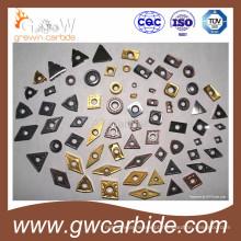 Insertos de fresagem de carboneto de tungstênio PVD Coating