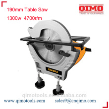 sliding table saw 190mm 1300w 4700r/m qimo power tools