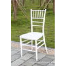 MONOBLOC WHITE RESIN TIFFANY CHAIR FOR WEDDING