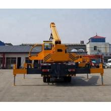 маленький мобильный грузовик с краном 10 тонн