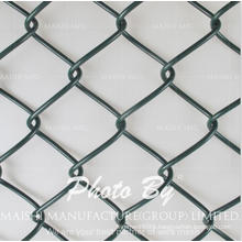 """2"""" Mesh Vinyl Coated Chain Link Fence Fabric"""