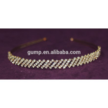 Simple Design New Korean Girl Fashion Rhinestone Children Hair Bnd Crystal headband