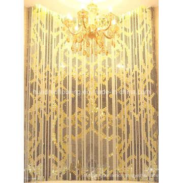 Gold Mosaic, Background Wall Tile, Pattern Mosaic (HMP649)