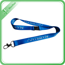 Free Sample Custom Polyester/Nylon Lanyard with Metal Snap Hook