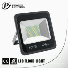 Luz de inundación del negro LED de la disipación de calor de 100W SMD LED buena IP65