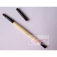 Nylon Hair Concealer Eyeliner cepillo de madera labios cosméticos cepillo