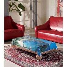 PVC Printed Landscape Tablecloth (TZ0006)