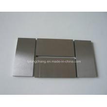 Яркая поверхность полированной молибдена плита листа высокой чистоты