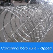 Sicherheit Concertina Razor Wire