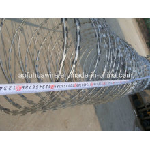 Beautiful and Safety Galvanized Razor Wire
