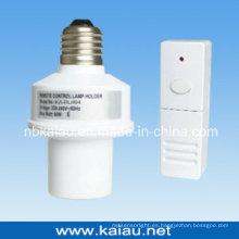 433.92MHz E27 RF sin hilos de control remoto titular de la lámpara (KA-RLH04)